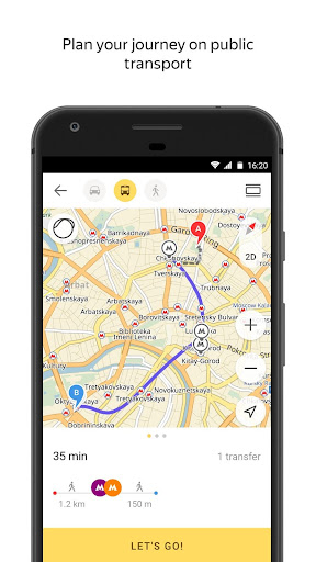 Yandex.Maps screenshot 6