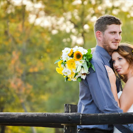 Bride and groom  by Alta Mouton - Wedding Bride & Groom