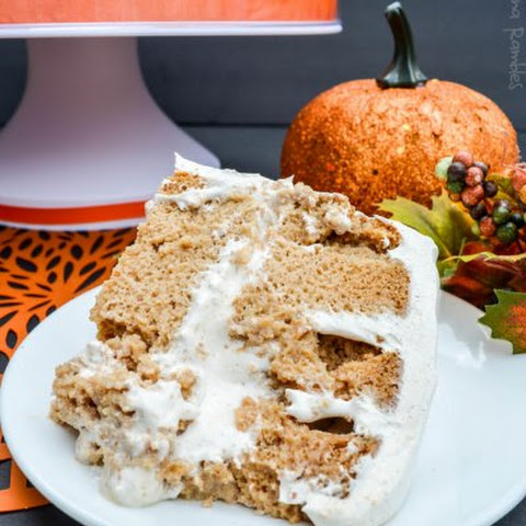 Pumpkin Spice Tres Leches Poke Cake