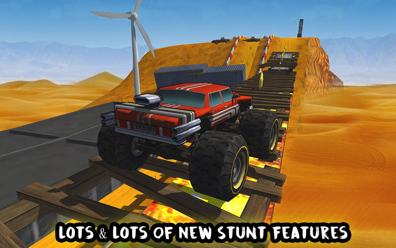 Crazy Monster Bus Stunt Race Screenshot 14
