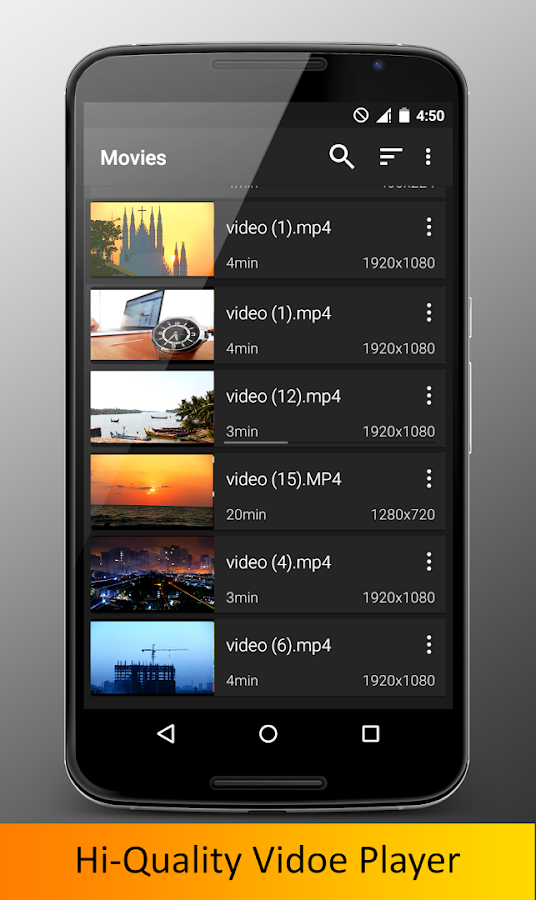 Video Player HD Pro. Screenshot 5