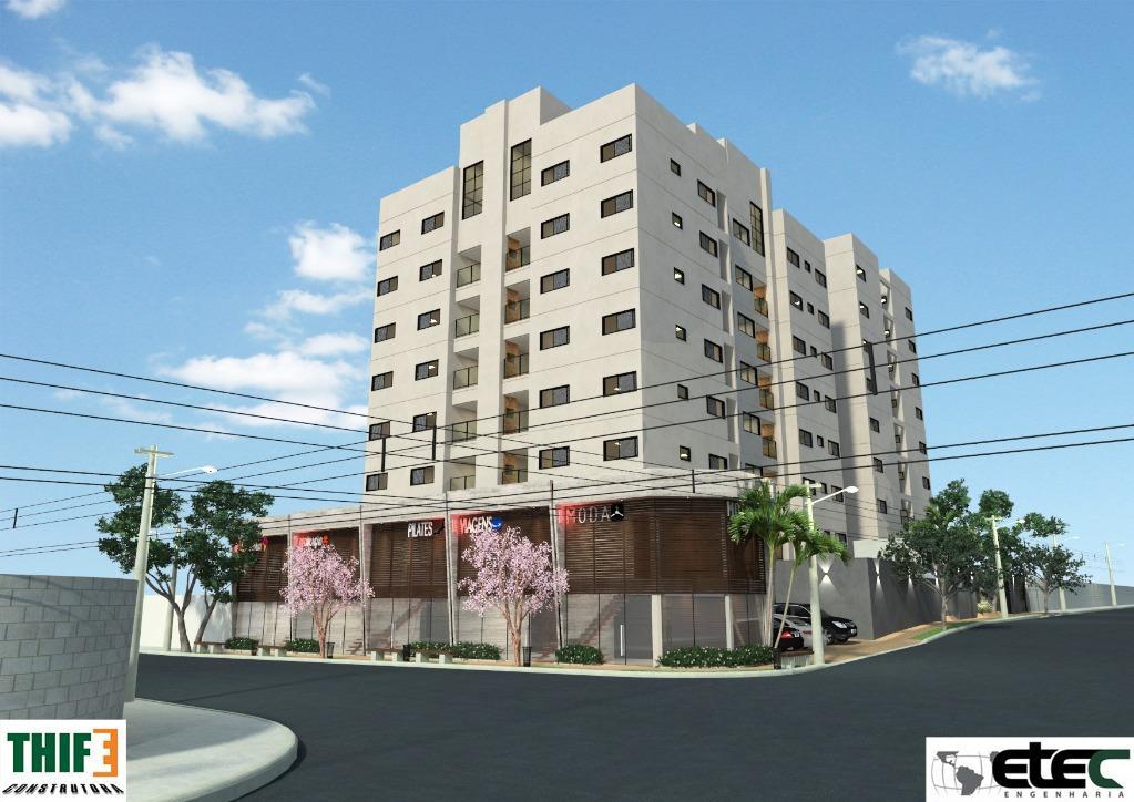 Apartamento à venda, 112 m² por R$ 381.000,00 - Santa Maria - Uberaba/MG