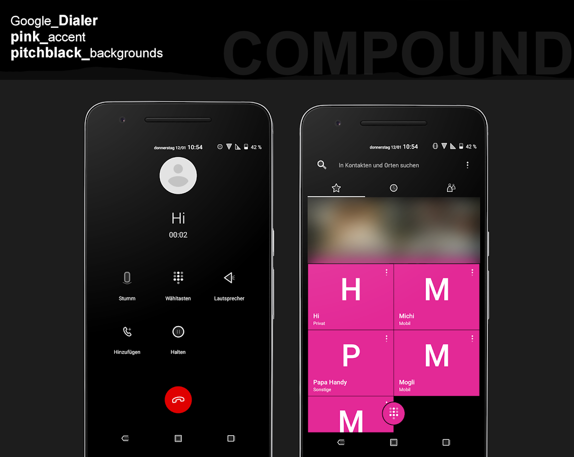 Compound for Substratum (Android Oreo/Nougat) Screenshot 7