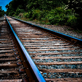 Railroad Track 2 by Mike Scott - Novices Only Landscapes