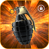 Grenade Screen Lock prank APK for Bluestacks