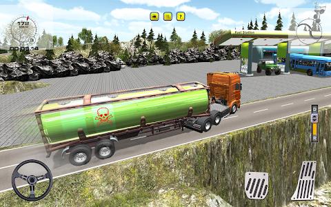 Offroad Oil Tanker Transporter APK