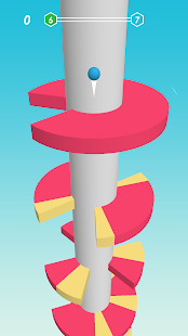 Spiral Helix: Jump down the tower