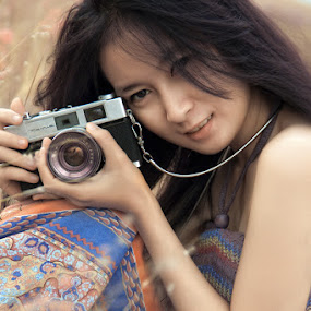 .: Girl and Camera :. by Garenk Ulunger - People Fashion