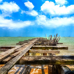 by Hussin Mohd Nor - Landscapes Beaches ( jetty, beach )