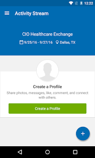 CIO Healthcare Exchange - screenshot