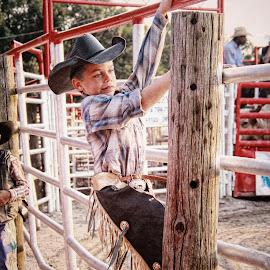 Little Cowboy by Lori Wallace - Babies & Children Children Candids