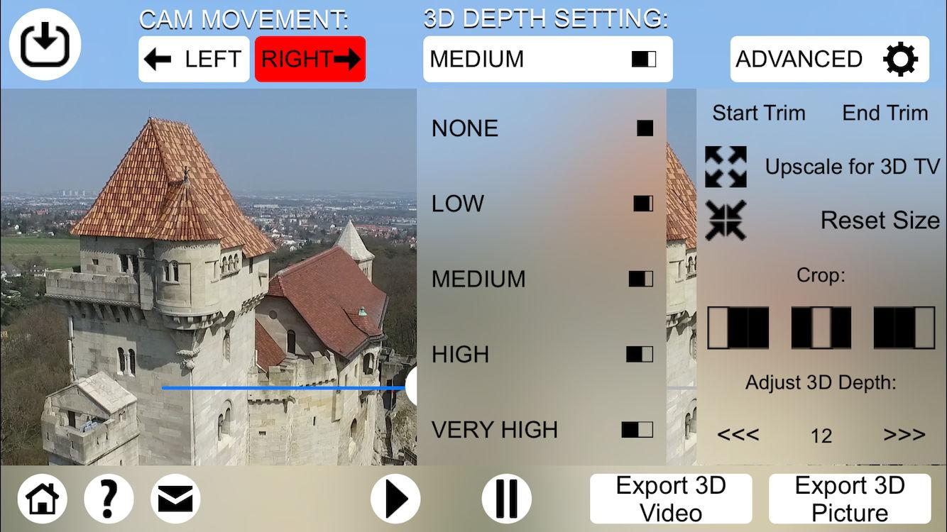 3D Video Converter - for DJI Screenshot 2