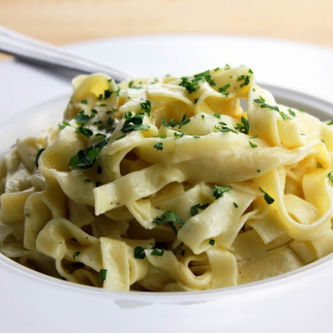 Fettuccine With Herb Butter