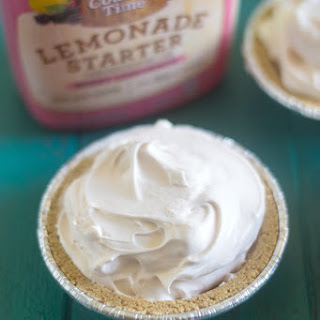 Berry Frozen Lemonade Pie