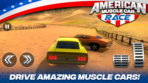 American Muscle Car Race For PC