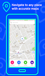 Voice GPS Driving Directions –Lite, GPS Navigation for pc
