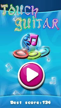 Touch Guitar APK screenshot thumbnail 1