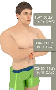 Belly Fix - 12 days PRO Fitness app screenshot for Android