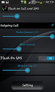 Flash Alert - Flash on Call Screenshot