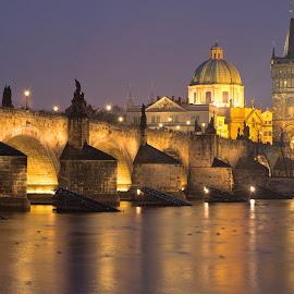 Prague Karl bridge by Zoran Osijek - Buildings & Architecture Bridges & Suspended Structures ( bridge, prague )