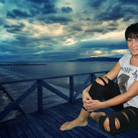 My girl by Dj Cioko - Landscapes Weather ( love, greenscreen, efect, girl, lanscape, chroma, key )