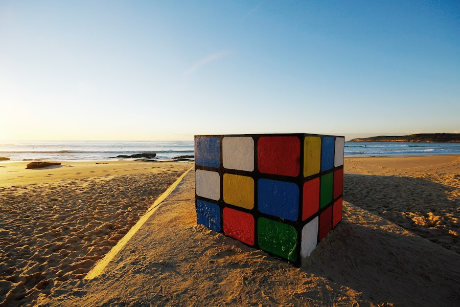 Unsolved by Khairul Azfar - Buildings & Architecture Statues & Monuments ( cubic, australia, maroubra beach, sydney )