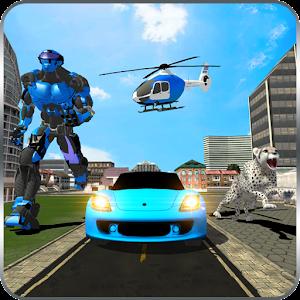 Tetra Cheetah Robot Car Transform Helicopter For PC (Windows & MAC)