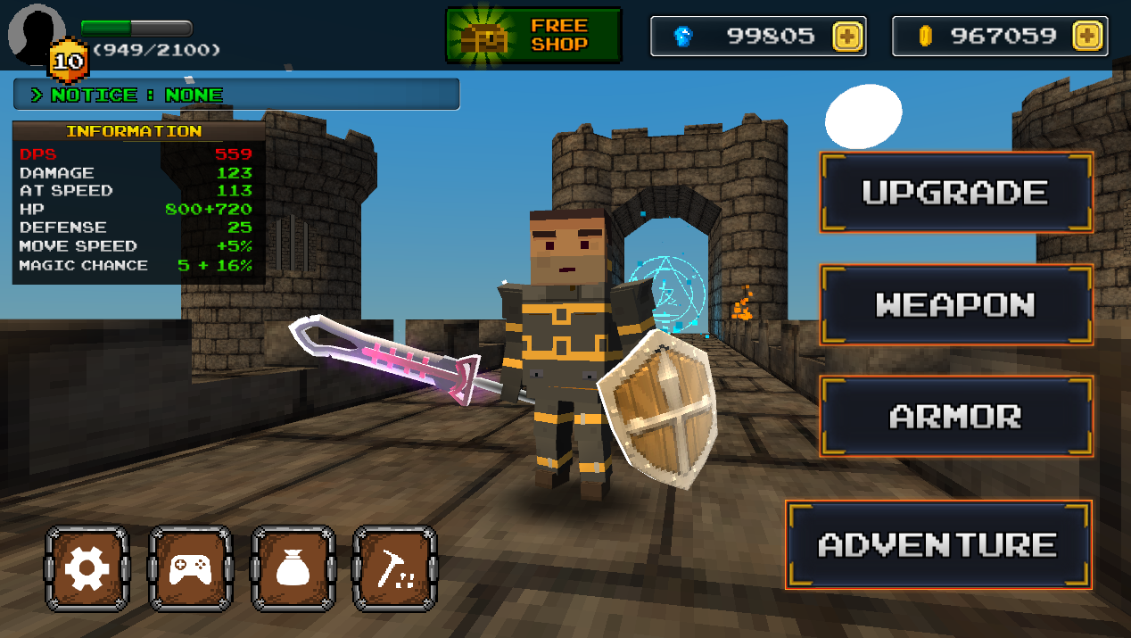 Pixel F Blade - Hack n Slash Screenshot 8