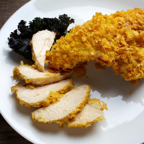 Crispy-Coated Baked Chicken