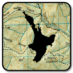 NZ Topo50 Offline - North Island For PC / Windows 7/8/10 / Mac – Free Download