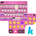 Pink Glitter Emoji Keyboard APK for Bluestacks