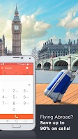 Screenshot of Cheap calls & roaming SIM app