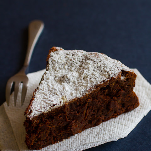 Almost Flourless Chocolate Torte Cake