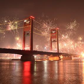 Ampera palembang by Sandi Nopri yanto - Public Holidays New Year's Eve