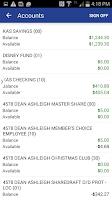 Screenshot of Family Savings CU Mobile