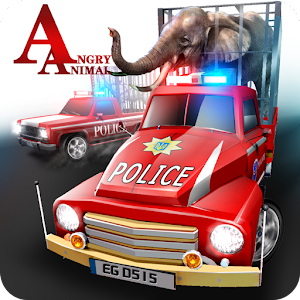 Cover art Angry Animals Police Transport
