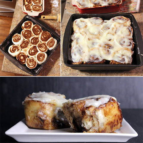 Pizza Dough Cinnabuns
