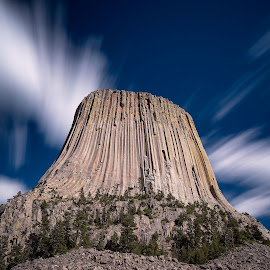 Devil's Tower by Rob Darby - Landscapes Mountains & Hills