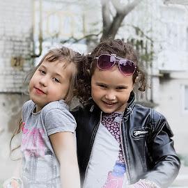 Подружки by Tarasij Zirob - Babies & Children Children Candids ( zirob, korosten,  )