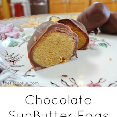 Chocolate-Dipped Sunbutter Easter Eggs