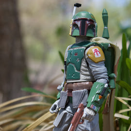Bounty Hunter by Gerald Glaza - Artistic Objects Toys ( boba fett, action figure, star wars, toys, disney, toy photography, toys are real )