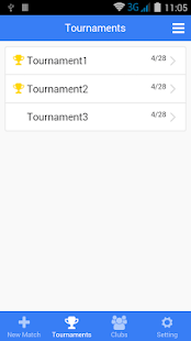 Beach Volleyball Match Log - screenshot