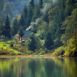 Lake by Miloš Karaklić - Landscapes Travel (  )