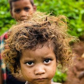 Portrait of tribal child by Tejesh Tejesh - Babies & Children Child Portraits ( #tribal #portrait #child )
