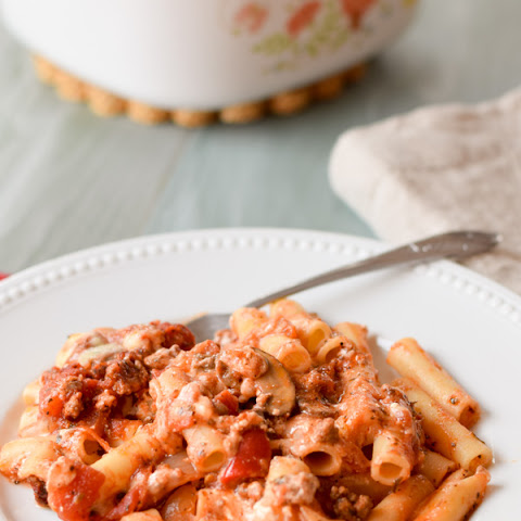 The Best Baked Beef Ziti