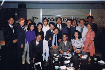 With Esa Pekka Salonen, Tokyo, 1988 (2nd from left Emanuel Ax, between myself and Esa Pekka Salonen, Yo-Yo Ma)