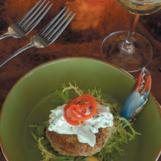 Crab Cakes with Ravigote Sauce