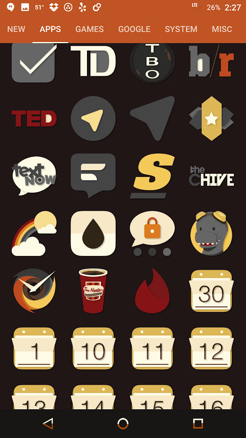Saturate - Free Icon Pack Screenshot 14