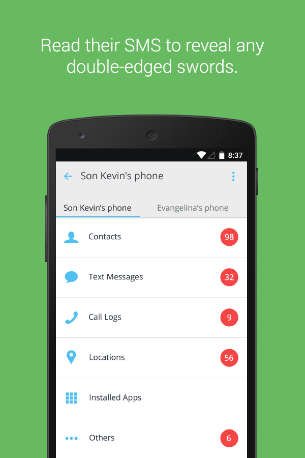 mSpy - Family Phone Tracker Screenshot 2