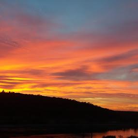 Black & orange by Nicoleta Nastasa - Landscapes Sunsets & Sunrises
